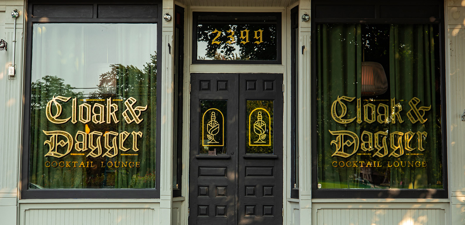 Sign Painted Windows